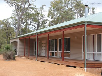 Photo for Modern family getaway set amongst the Jarrah trees short drive from Waroona town