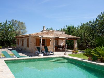 Photo for Villa With Private Pool near the golf course in Pollensa, Free WiFi