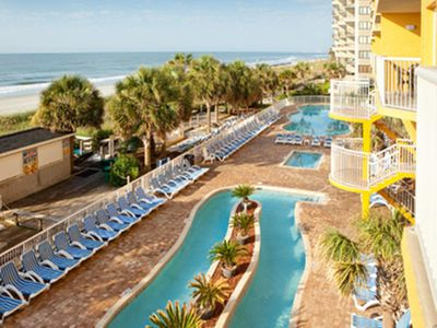 Photo for Oceanfront 2 Bedroom Shore Crest Villa I   9/8-9/15/18