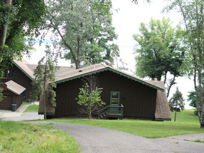 Photo for Private Vacation Home on Gull Lake with Sandy Beach Front and a Dock