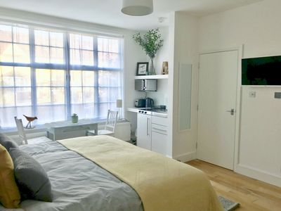 Photo for Large light and airy studio with own entrance in family house
