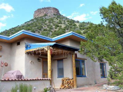 Photo for Rio Grande Gorge Casita- traditional adobe, hot tub, hiking, privacy