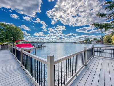 Photo for Escape to this Perfect Waterfront Retreat with Family and Friends