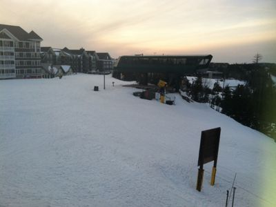 Photo for Beautifully Renovated Ski In/Ski Out Condo Overlooking Ballhooter Lift