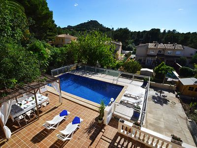 Photo for 6-Bedroom Villa Dragos in Santa Ponsa with PRIVATE POOL & TERRACE & BBQ