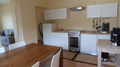 Photo for Beautiful view, only 5 minutes walk to the beach, garden, barbecue