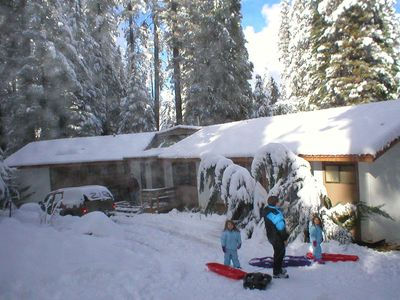 Photo for Cabin in the Woods, Close to Dodgeridge and Lake Pinecrest