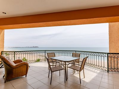 Photo for Sonoran Sea West 602 - 2 Bedroom Upper Floor Ocean Front