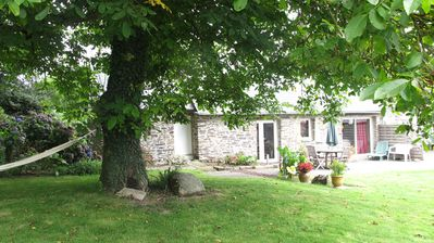 Photo for Quiet cottage near carhaix, many games.