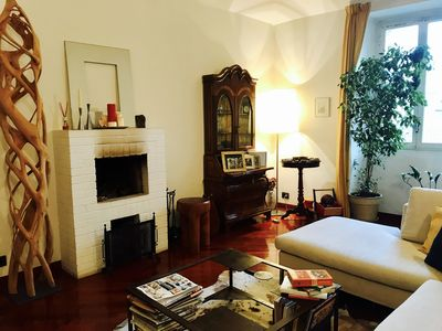 Photo for Central apartment between Piazza Vittorio and Valentino park. Free Wi-Fi