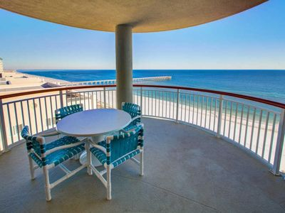 Photo for Amazing Views: Gulf Front with Free Beach Service (Mar - Nov)