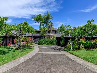 Photo for Hot tub/ AC/ Mountain views - 3 bedroom Spacious Princeville Private Home