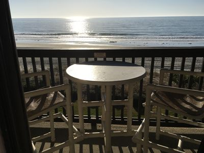 Photo for Newly Updated Oceanfront Condo- Sleeps 6, Away from the Hustle & Bustle