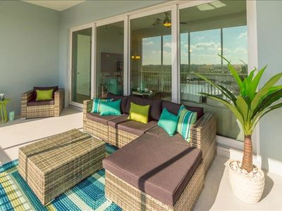 Photo for ONE PARTICULAR HARBOUR 387-402 3 BEDRROM 3 BATH PENTHOUSE LOTS OF AMENITIES END A LARGE PASSENGER POLARIS GOLF CART (additional fee)