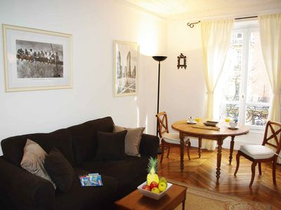 Photo for Beautiful 2 bedroom in the Batignolles area in the 17th district near park.