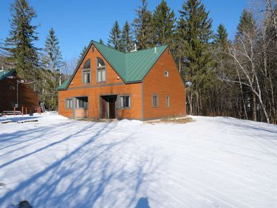 Photo for ☆ SKI ON & OFF! ☆ Spruce Glen D on Great Eastern Trail w/Sauna, Fireplace