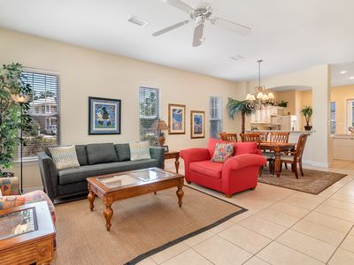 Photo for Peaceful Shore ~ Kick your shoes off at this unique 2BR/2 1/2BA beach house!