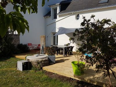 Photo for Villa 100 meters from the beach in the center of Piriac.