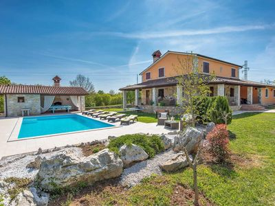 Photo for Traditional villa w/ spacious accommodation, free A/C, WiFi & pool towels, DVD player, hairdryer, Bluetooth speaker & built-in BBQ.