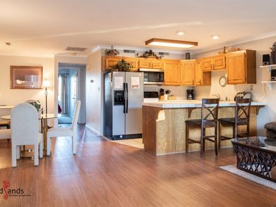 Photo for 304 | Main Level Condo, New Flooring, Mountain Views, Close to Pools, and more!