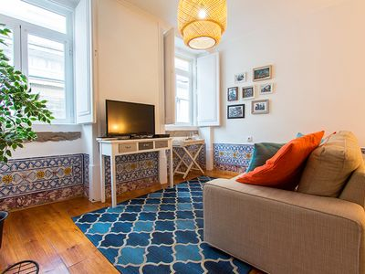 Photo for Classic two room apartment in city center in Bairro Alto