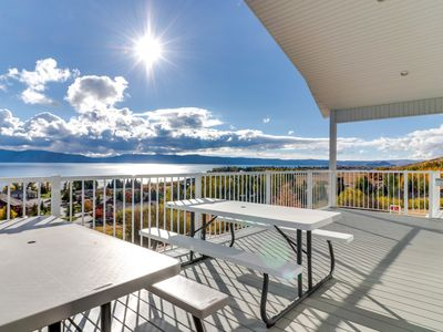 Photo for NEW LISTING! New home with Bear Lake views and shared pool, hot tub, and tennis!