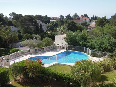 Photo for SEA Riviera, SAINT RAPHAEL, Large F2 for 4 people, pool, very quiet.