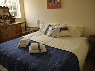 Photo for First floor apartment in Seaview near the beach, sleeps 4, pet friendly