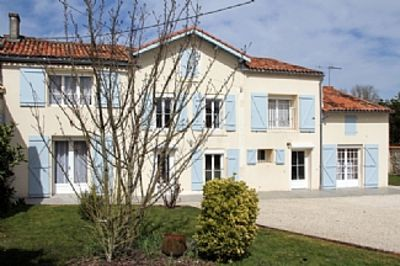 Photo for Large 5 Bedroom House In Quiet Village. Enclosed Heated Pool, large gardens