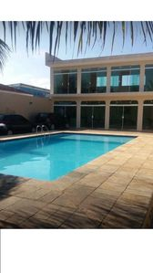 Photo for mansion in peruibe, 10 mts from the beach, 5 bedrooms, games room, and pool