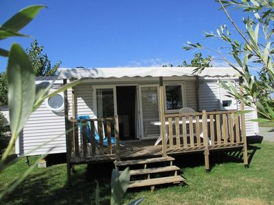 Photo for 3BR Mobile Home Vacation Rental in Le Perrier