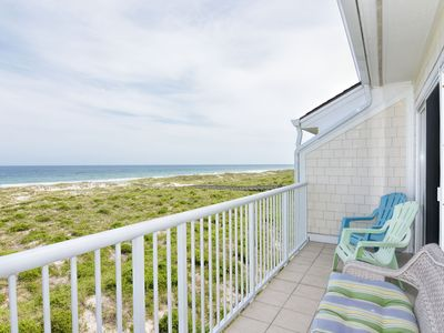Photo for Wrightsville Dunes 3B-D _ Oceanfront condo with community pool, tennis, beach