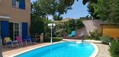 Photo for Beautiful air-conditioned villa with swimming pool quiet and green area of ​​Marseille
