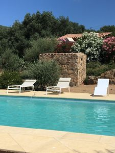 Photo for House 4 pers with swimming pool 4 km from the sea, southern Corsica
