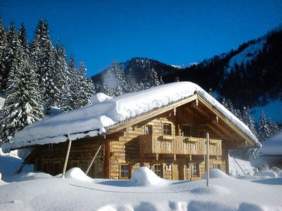 "Photo for Large chalet, situated on the ""Gnadenalm"". The chalet is built in Salzburger style has a rustic and"