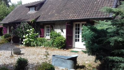Photo for Normandy half-timbered house - Eure - near Giverny