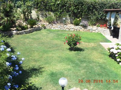 Photo for Lovely Villa with garden, wonderful view at few steps from the beach!