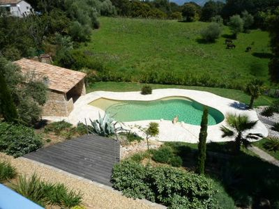Photo for Superb villa 6 people with private pool in a quiet 20 minutes from Ajaccio