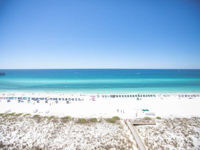 Photo for You'll Look Forward to Happy Hour on Your Private Gulf Front Balcony.