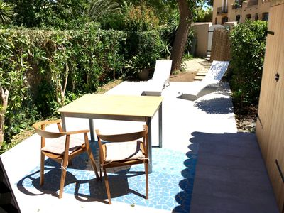 Photo for Port Grimaud - Air-conditioned studio 500m from the beach and 55m2 terrace center