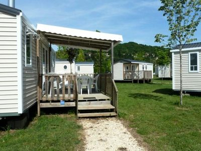 Photo for Flower Camping Les Ondines *** - Mobile home Confort Plus 3 Rooms 4/6 People