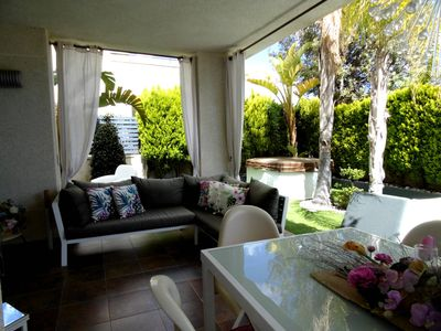 Photo for Nice modern house in Moraira for 4 people