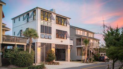 Photo for Oceanfront Newly Constructed- Huge outside deck, Pawleys Island SC