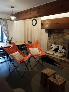 Photo for Apartment at the foot of the ski slopes - Terrace - Jacuzzi