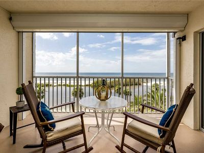 Photo for Sun Caper 408, 2 Bedrooms, Heated Pool, Gulf Front, Sleeps 4