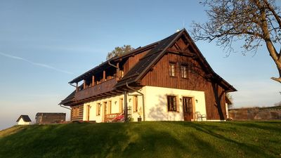 Photo for Romantic wellness cottage in Czech Paradise