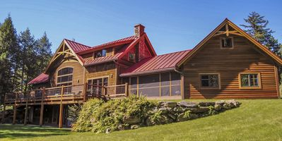 Photo for Jay Peak's Jewel, Newly Built Timber Frame Home, 4 Miles From Jay Peak Resort