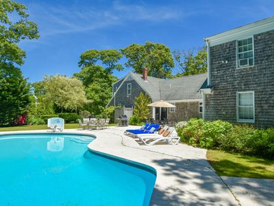 Photo for #517: Recently updated w/ private pool, private yard, 3 mins to Skaket Beach!