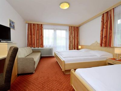 Photo for Triple room with shower or bath Bathroom, WC - Hotel Unser Unterberg