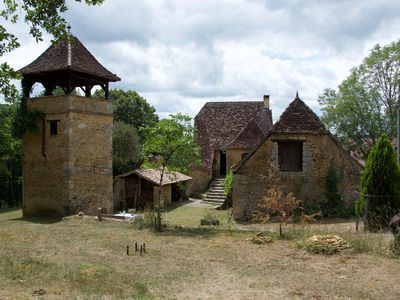 Photo for Stone houses with tower, ancient, carefully restored, simple, quiet